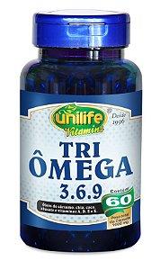 Tri Omega 3-6-9 1000mg 60 cápsulas Unilife