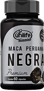 Maca Negra Black em cápsulas - 60 caps  - Unilife