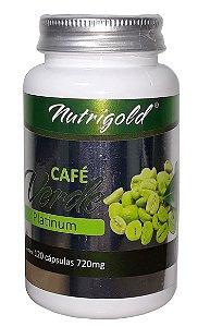 Café Verde Platinum 120 Caps 720 mg - Nutrigold