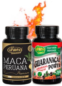 Fórmula TestoMaster (240 caps) Maca Peruana + Guaraná + Açaí