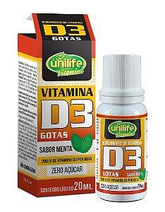 Colecalciferol - Vitamina D3 em gotas 20 ml