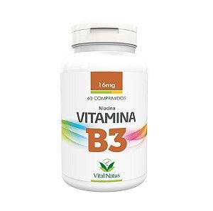 Vitamina B3 Niacina Vital Natus 60Caps 16mg