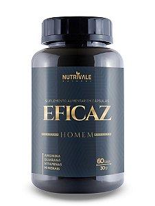 Eficaz Homem - Estimulante - 60 Cápsulas -Nutrivale