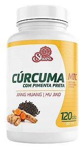 Cúrcuma com Pimenta Preta - 120 caps - 650 mg - Shiva