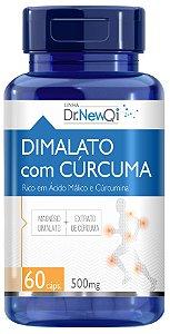 Magnesio Dimalato com Curcuma - Dr NewQi - 60 caps