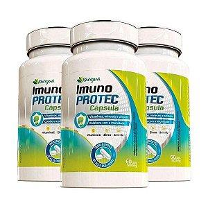 Imuno Protec - Própolis e Vitaminas - Kit 3 unidades  - 180 Caps  Katigua