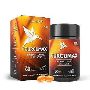 Curcumax Extrato Ultra Concentrado PuraVida - 60cap - Pura Vida