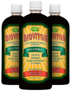 Bioviton Multivitamínico líquido (400 ml) - Kit com 3 - Unilife