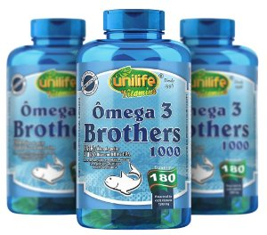 Omega 3 Brothers - Kit com 3 - 540 Caps - Unilife