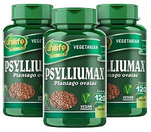 Psylliumax Psyllium - Kit com 3 - 360 Caps - Unilife