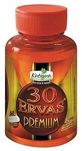30 Ervas Premium em (60) Cápsulas - katigua