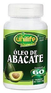 Óleo de Abacate 60 Cápsulas (1200mg) - Unilife