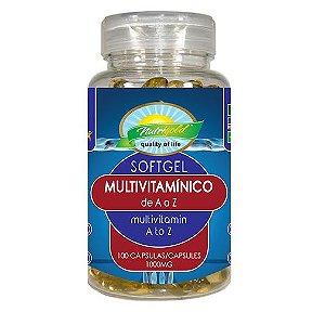 Multivitamínico de A a Z - (1000mg) - 60 Cáps - Nutrigold