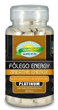 Fôlego Energy Platinum 180 compr.  (800mg) Nutrigold