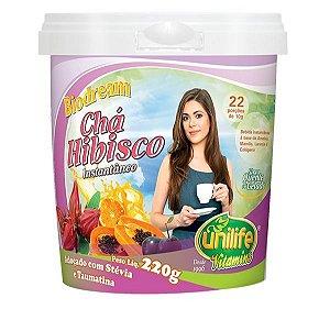 Chá Hibisco Instantâneo Biodream (220g) - Unilife