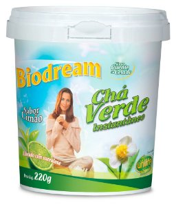 Chá Verde Instantâneo Biodream (220g) - Unilife