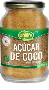 Açúcar de Coco - Pote (360g) - Unilife
