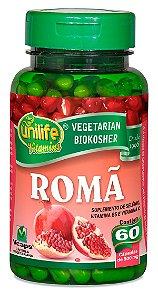 Romã 60 capsulas (500mg) - Unilife