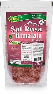 Sal Rosa do Himalaia Grosso (500g) - Unilife