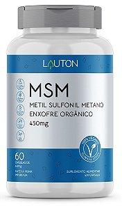 MSM - Metil Sulfonil Metano 450mg - 60 Cápsulas | Lauton Nutrition