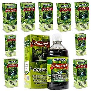 10 Unidades de Chá Amargo Ervas Naturais Original - Atacado