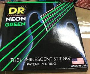 Jogo de Cordas DR NEON Verde 4 Cordas 0.45`