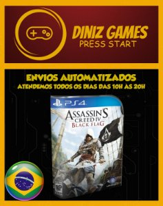 Assassins Creed 4 Black Flag Psn Ps4