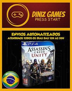 Assassins Creed Unity Psn Ps4