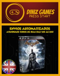 Batman Arkaham Asylum Psn Ps3