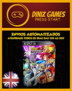 Dragon Ball Z Battle Of Z Ps3 Psn