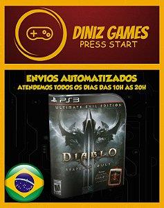 Diablo 3 Ultimate Edition Psn Ps3