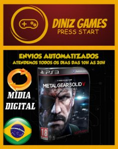 Metal Gear: Ground Zeroes Psn Ps3