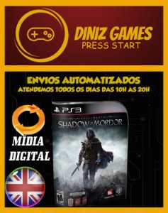 Shadow Of Mordor Psn Ps3