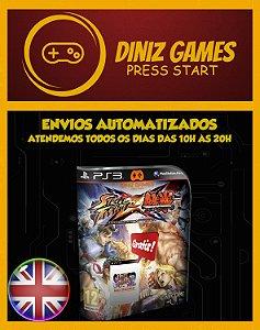 Street Fighter X Tekken + Brinde Psn Ps3