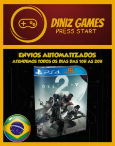 Destiny 2 + DCL 1 e 2 Psn Ps4