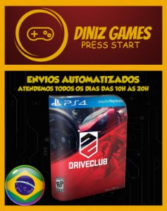 Drive Club Psn Ps4