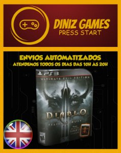 Diablo 3 Ultimate Edition Psn Ps3