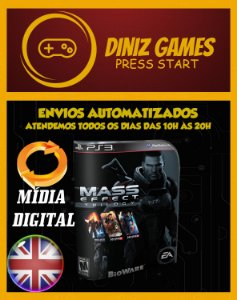 Mass Effect Trilogia Ps3