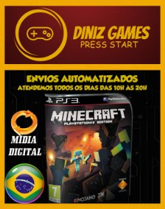 Minecraft Original para Ps3