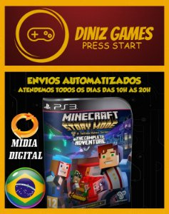 Minecraft Story Mode Completo (1-8) Ps3