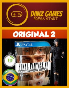 Final fantasy XV Premium edition Psn Ps4