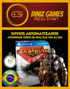 God of War 3 Psn Ps4