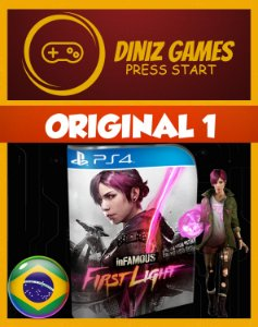Infamous First Ligth Psn Ps4