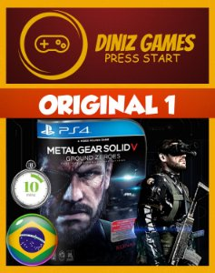 Metal Gear Solid V Ground Zeroes Psn Ps4