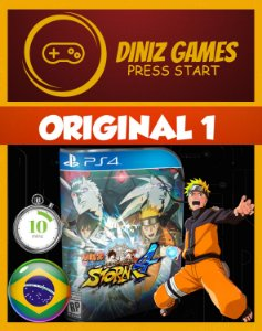 Naruto Shippuden: Ultimate Ninja Storm 4 Psn Ps4