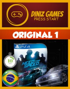 Need for Speed Psn Ps4