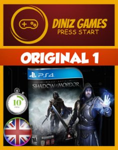 Shadow of Mordor Psn Ps4
