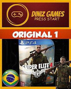 Snipe Elite 4 Psn Ps4
