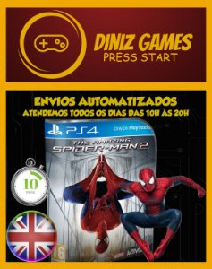 The Amazing Spider man 2 (2014) Psn Ps4