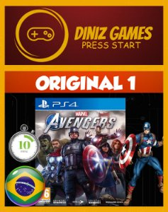 Avengers Ps4